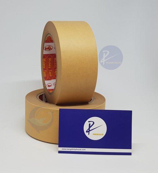 Băng dính giấy da bò nhám