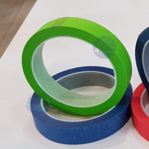 băng dính giấy xanh lá