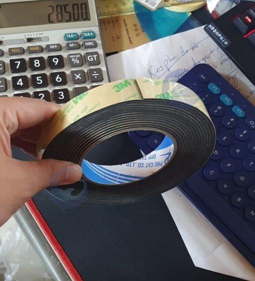 Băng dính cao su 3mm dạng cuộn